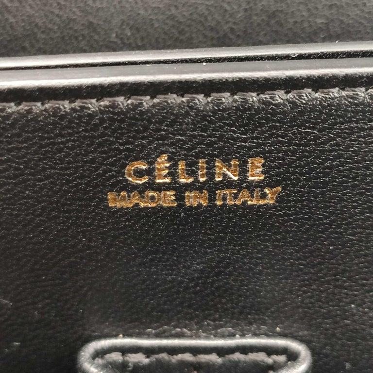 CÉLINE Triomphe Shoulder bag in Multicolour Leather 1