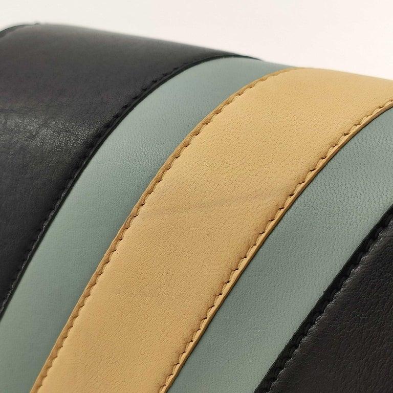 CÉLINE Triomphe Shoulder bag in Multicolour Leather 3