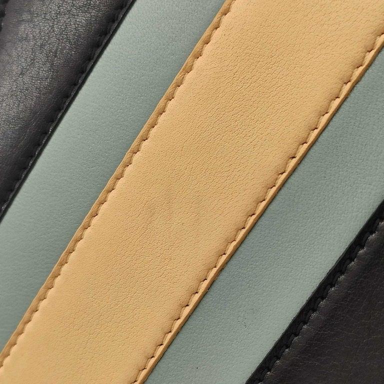 CÉLINE Triomphe Shoulder bag in Multicolour Leather 4