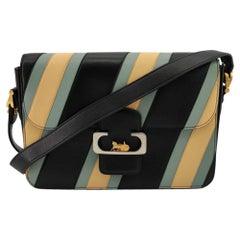 CÉLINE Triomphe Shoulder bag in Multicolour Leather