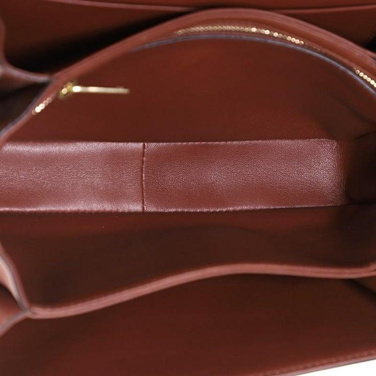 Women's or Men's Celine Triomphe Shoulder Bag Smooth Calfskin Medium