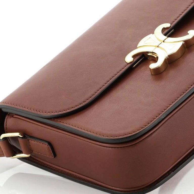 Celine Triomphe Shoulder Bag Smooth Calfskin Medium 1