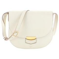 Celine Trotteur Crossbody Bag Grainy Leather Medium