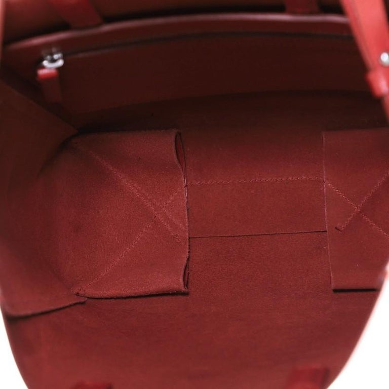 Celine Vertical Cabas Tote Grained Calfskin Small For Sale 1