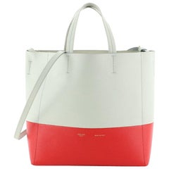 Celine Vertical Bi-Cabas Tote Grained Calfskin Small