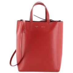 Celine Vertical Cabas Tote Grained Calfskin Small
