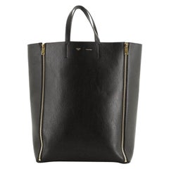 Celine Vertical Gusset Cabas Tote Leather Large