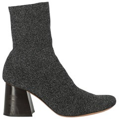Celine Woman Ankle boots Black Synthetic Fibers IT 39