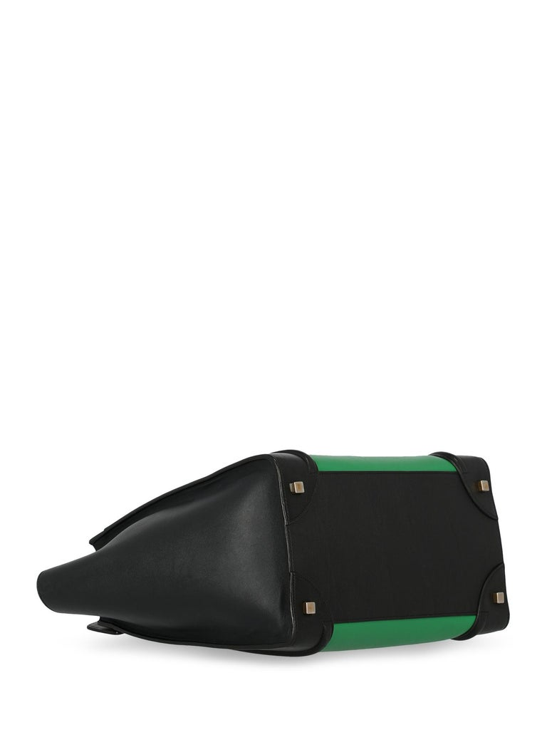 Celine Woman Luggage Black, Green  For Sale 1