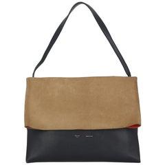 Celine Woman Shoulder bag All Soft Beige Leather