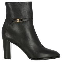 Celine  Women Ankle boots  Black Leather EU 38