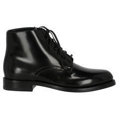 Celine Women  Ankle boots Black Leather IT 38