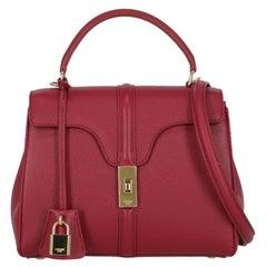 Celine  Women Handbags  Burgundy Leather