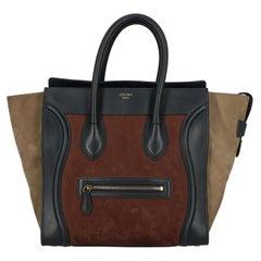 Celine Women  Handbags Luggage Brown Leather