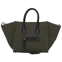Celine Women  Handbags Phantom Khaki Fabric