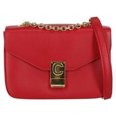 Celine  Women Handbags  Red Leather