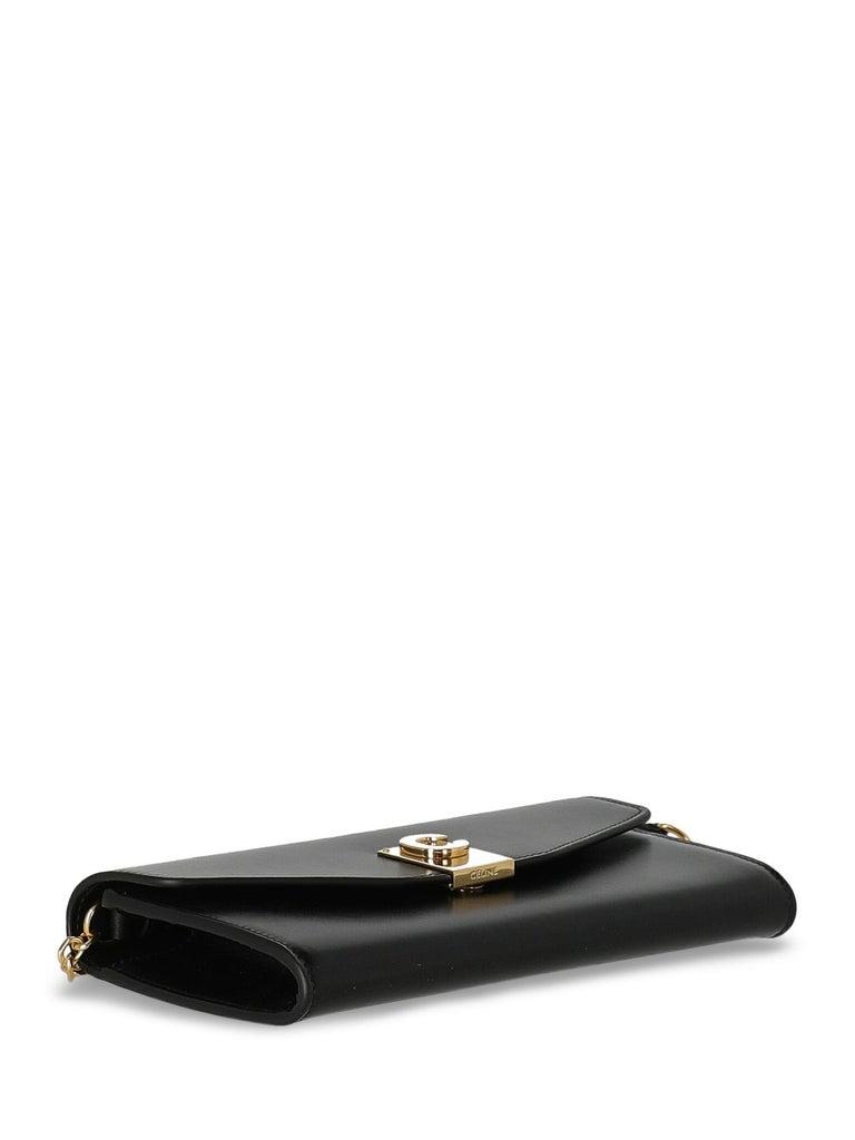 Celine  Women Shoulder bags Black Leather For Sale 1