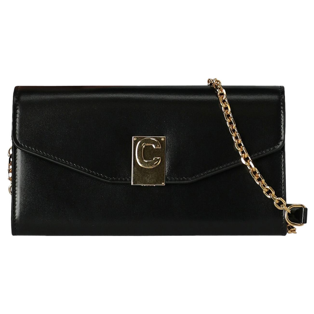 Celine  Women Shoulder bags Black Leather