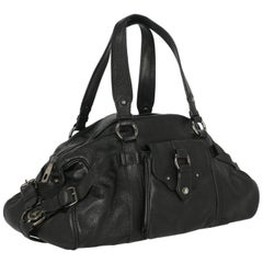 Celine Women  Shoulder bags Boogie Black Leather