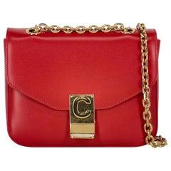 Celine  Women Shoulder bags Red Leather