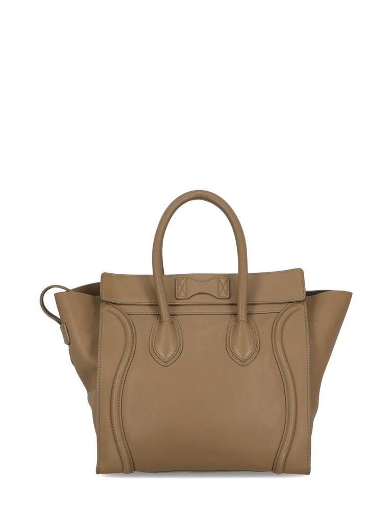Celine  Women's Tote Bag Luggage Beige Leather 1