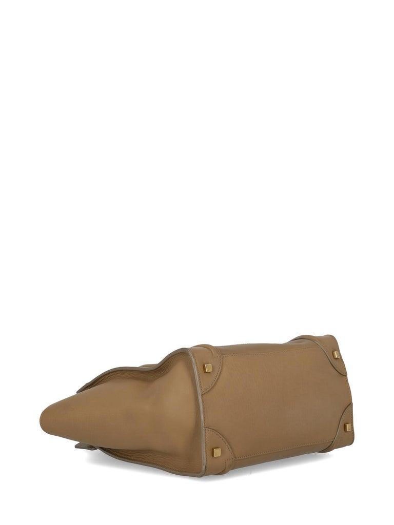Celine  Women's Tote Bag Luggage Beige Leather 2