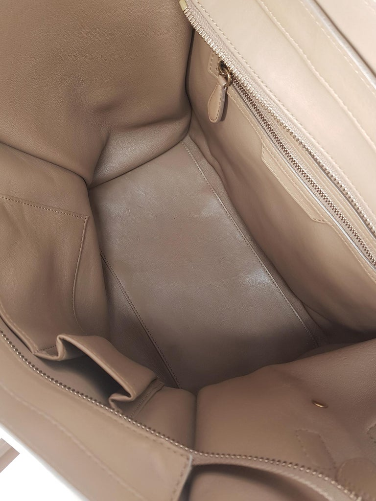 Celine  Women's Tote Bag Luggage Beige Leather 3
