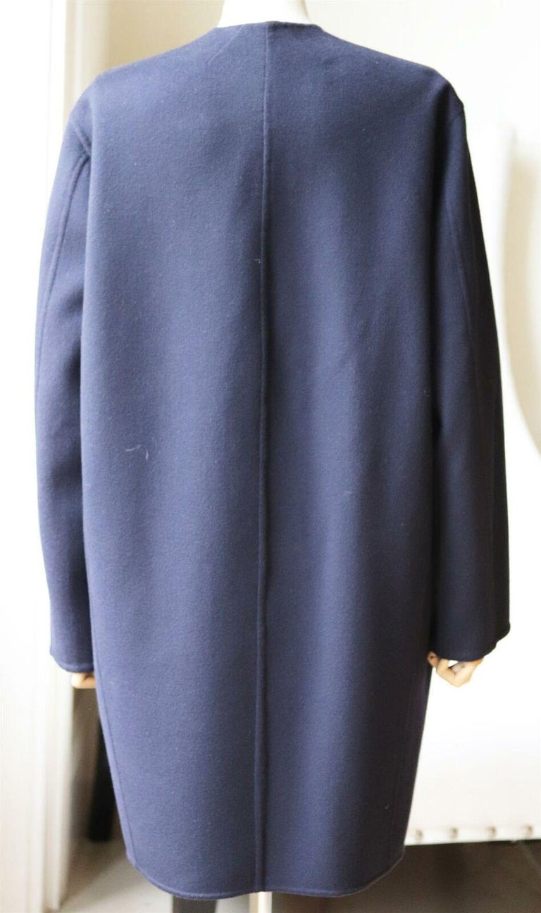 Céline Wool and Cashmere Blend Coat In Excellent Condition For Sale In London, GB