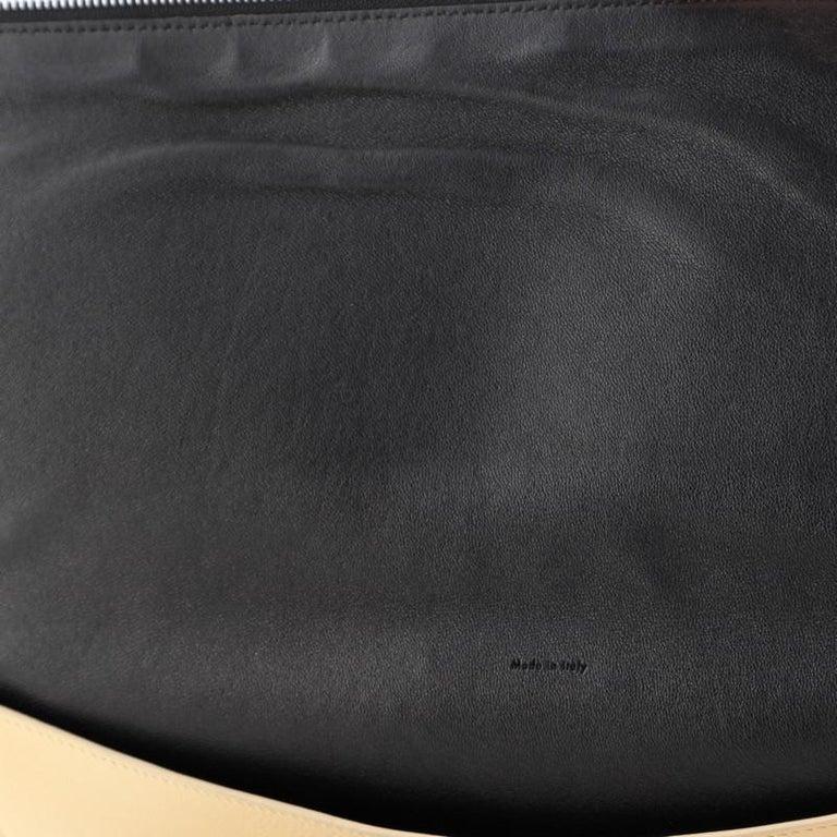 Celine Zip Clutch Leather Oversized For Sale 2