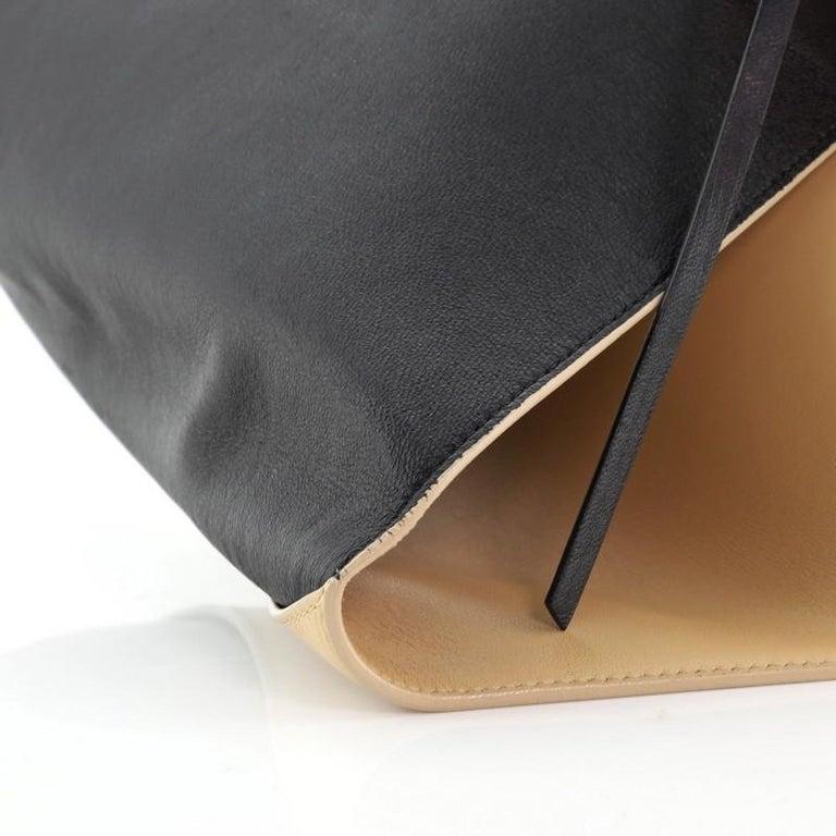 Celine Zip Clutch Leather Oversized For Sale 4