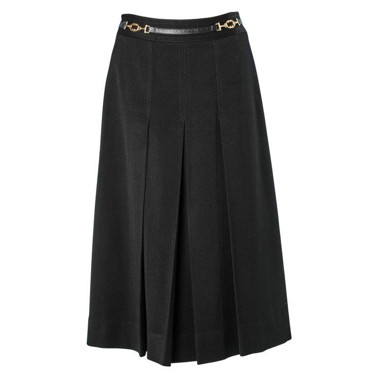Céline's black skirt For Sale