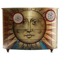 Cellarius Gold Leaf Chest of Drawers by Langeli