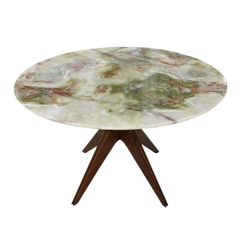 Celler Table of Onyx, Italy, 1950 For Sale