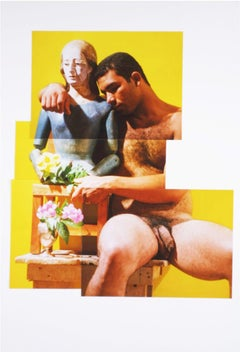 Carlos, 2001 from Buscando Mama series, Photo Collage