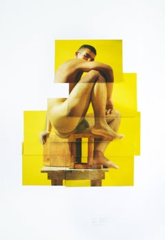 Luis Alberto from Identidad series, 2000, Photo Collage