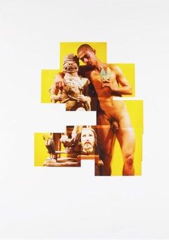 Rolando, 2001 from Buscando Papa series, Photo Collage