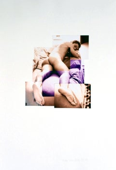 """""""Taiber"""", from 'Identidad' series, Photo Collage, 1999"""