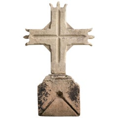 Celtic Limestone Cross, circa 1780