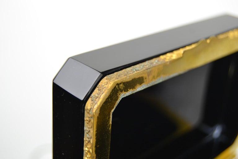 Cenedese Murano Black Jewelry Box, 1950s For Sale 2
