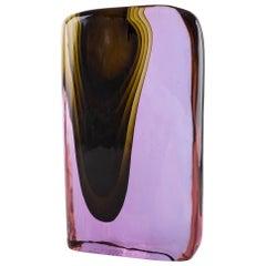 Cenedese Murano Blown by Tosi Designed Antonio da Ros Sculpture Vase