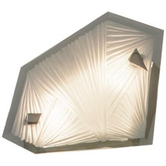 'Cenote' Sculptural Wall Sconce 2 Made in Studio Glass by Domenico Ghirò