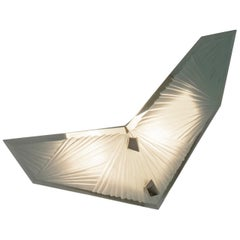 'Cenote' Sculptural Wall Sconce 3 Made in Studio Glass by Domenico Ghirò