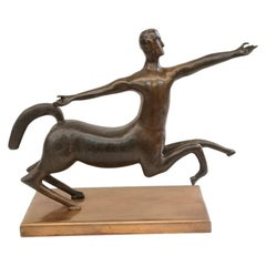 Centaur Bronze Cast from Unknown Artist, 1970s