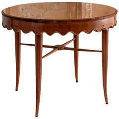 Center Table Attributed to Osvaldo Borsani