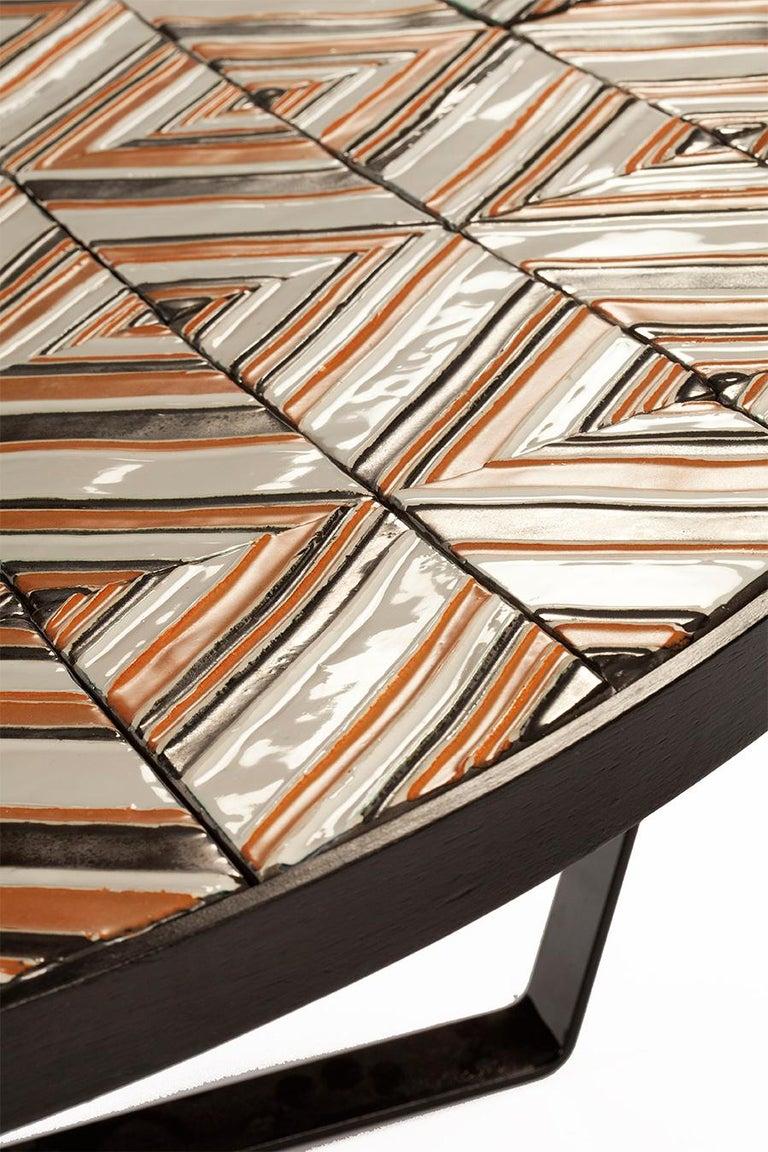 Center Table Caldas with Portuguese Tiles 2