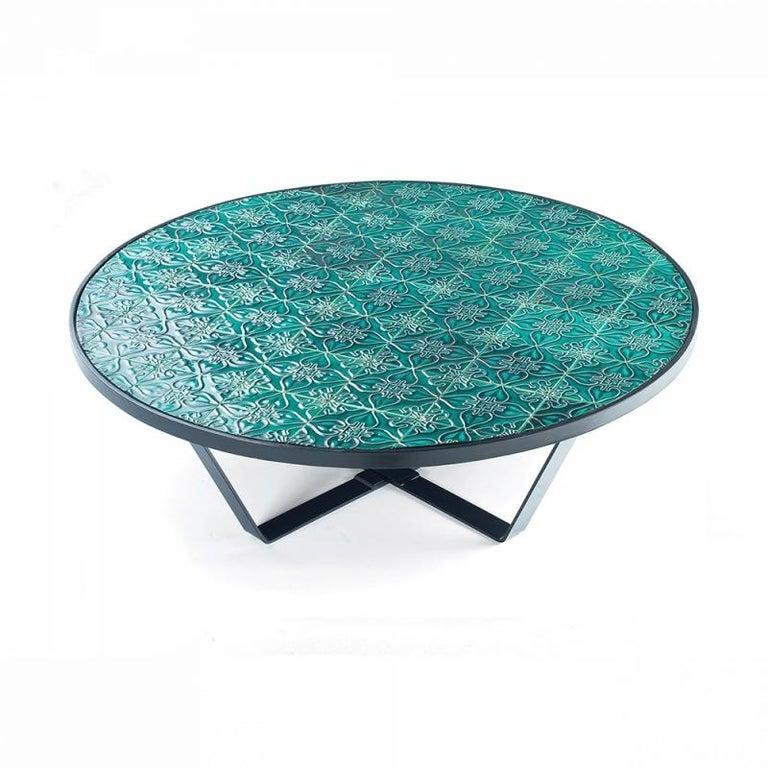 Center Table Caldas with Portuguese Tiles 3