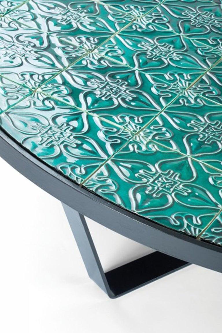 Center Table Caldas with Portuguese Tiles 4