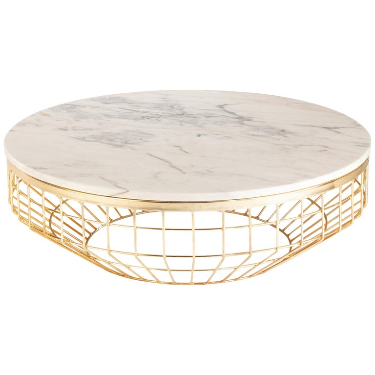 Center Table New Air Brass For Sale