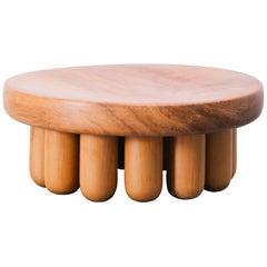 Centerpiece, Benta Collection, Contemporary Angelim Wooden Centerpiece