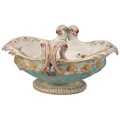 Centerpiece, Ceramic, Possibly Lunéville, France, 19th Century